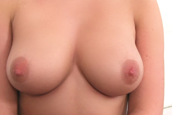 Amazing natural tits blonde talked into sex ft - FakeHub.com