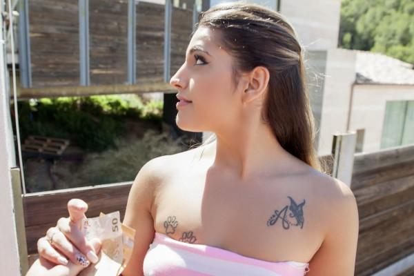 Watch Sylvan in Latina Bounces on Fat Cock