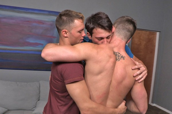 Dane, Grayson & Jarek: Bareback - Best Gay Sex