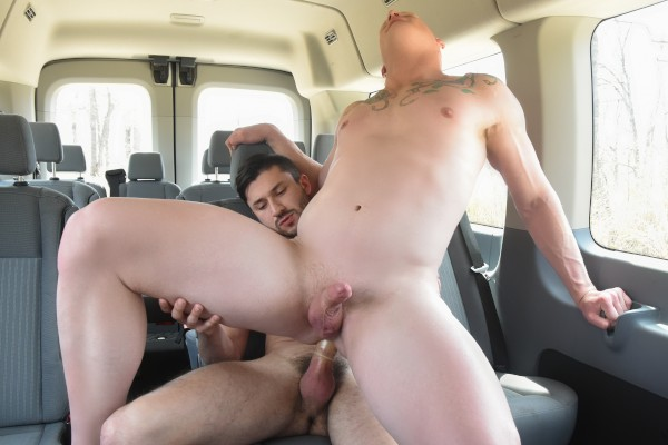 Str8 Chaser - Scott with Scott DeMarco, Scarlett Porter, Roman Eros at captainstabbin.com