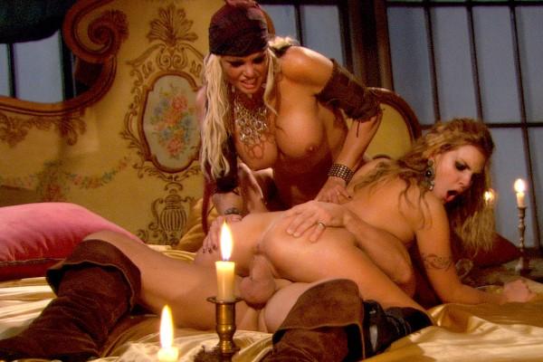 Pirates 2 - Scene 7 - Brea Lynn, Brianna Love, Evan Stone