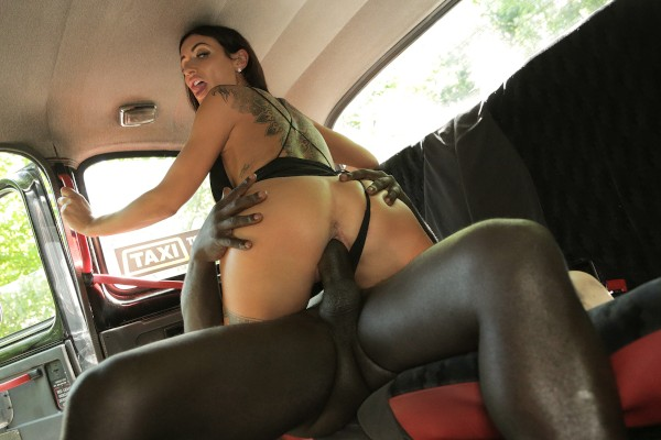 Horny driver hungry for black cock ft Princess Jasmine - FakeHub.com