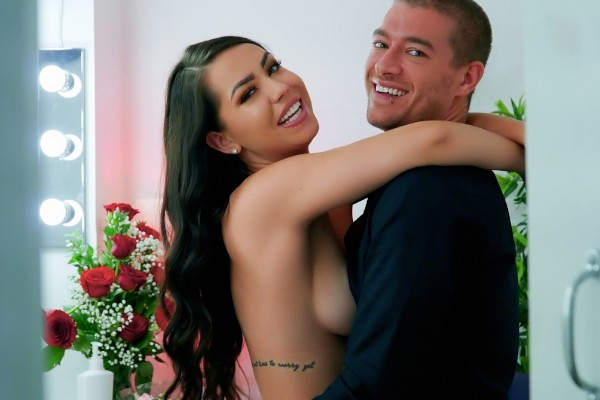 Watch Alina Lopez, Xander Corvus in Make Up Creampie