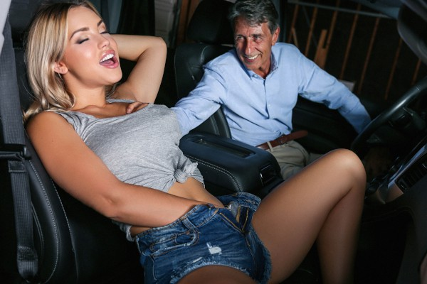 It's Your Turn to Drive the Sitter Home with Alina Lopez, Steve Holmes at sneakysex.com