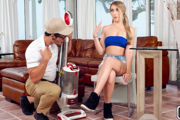 Cock Salesman with Bambino, Kimber Lee at teenslovehugecocks.com