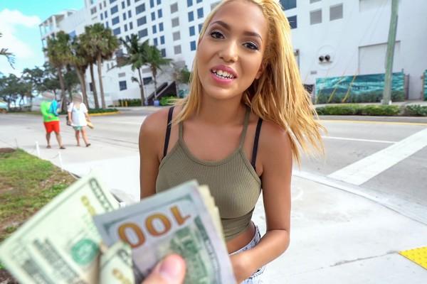 Watch Selena Sosa in Miami Latina Goes Straight for Cash