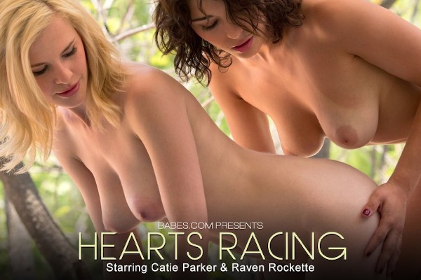 Hearts Racing - Raven Rockette, Catie Parker - Babes