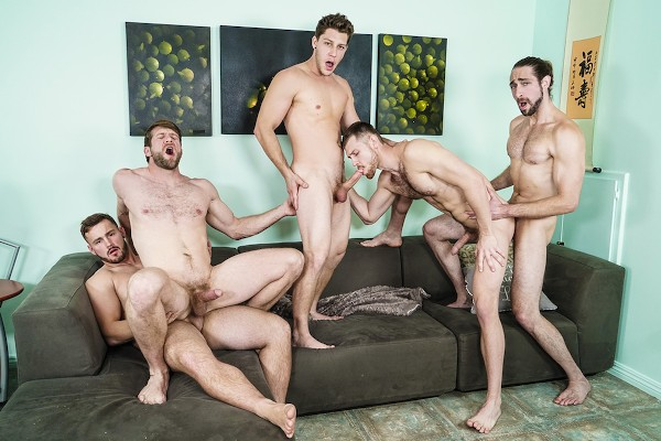 My Whore Of A Roommate - feat Paul Canon, Colby Keller, Trevor Long, Roman Cage, Jacob Peterson