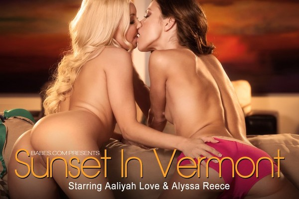 Sunset In Vermont - Alyssa Reece, Aaliyah Love - Babes