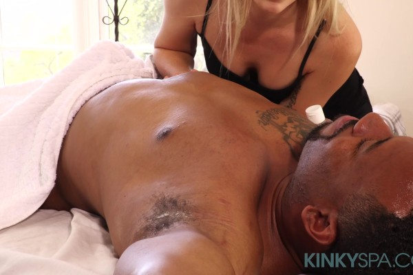Lyra Law Gives a Kinky Massage
