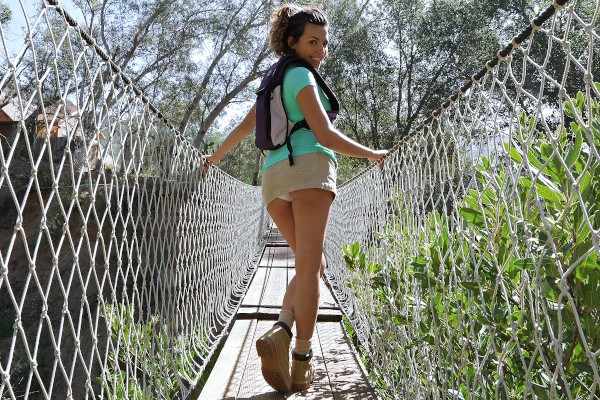Watch Danica Dillon in Spying on an Outdoor Public Fuck