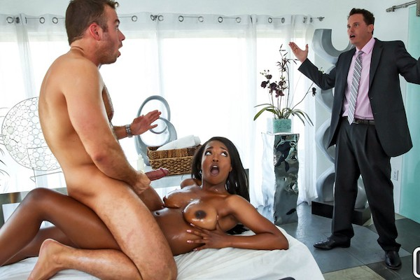 Too Sore For Work with Chad White, Daya Knight at bignaturals.com
