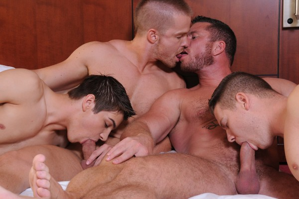 Turn Me Into A Whore 3 - feat Johnny Rapid, Jimmy Johnson, Riley Banks, Jack King, Liam Magnuson, Charlie Harding