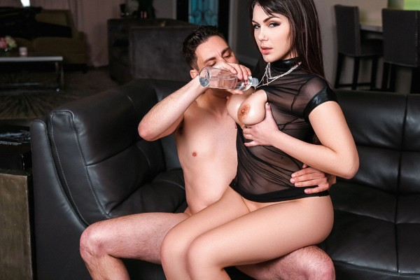 Confident And Curvy with Brad Knight, Valentina Nappi at bignaturals.com