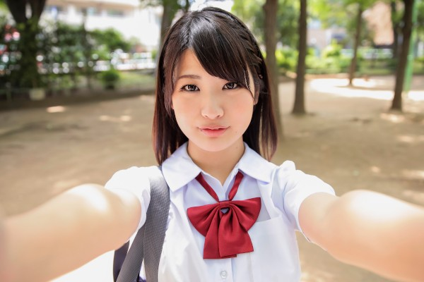Erito porn - Alone with Sweet Schoolgirl Aoi