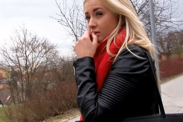 Watch Cayla Lyons in Euro Blonde Has Cute Small Tits