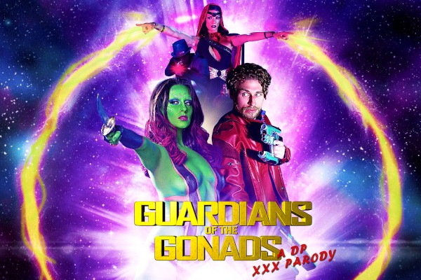 Guardians of The Gonads: A DP XXX Parody - Michael Vegas, Cassidy Klein