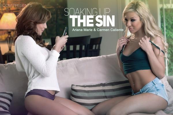 Soaking Up the Sin - Ariana Marie, Carmen Caliente - Babes