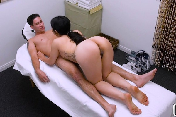Naughty Finish With Nari with Brad Knight, Nari Park at happytugs.com