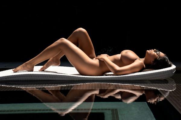 Strip Tease Studying - Xander Corvus, Autumn Falls - Babes