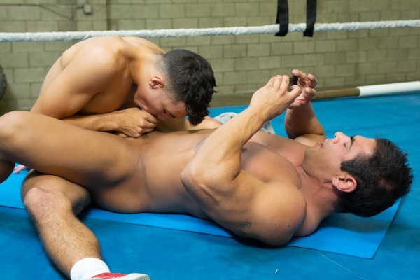 Dudes In Public 37: Boxing Ring - Best Gay Sex