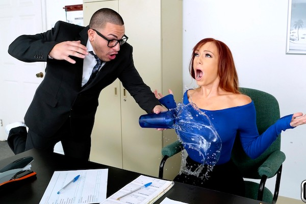 My Nerdy Assistant with Peter Green, Dani Jensen at milfhunter.com