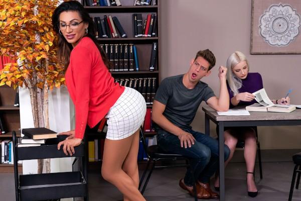 Watch Stroke Her in the Stacks featuring Jessy Dubai, Michael DelRay Transgender Porn
