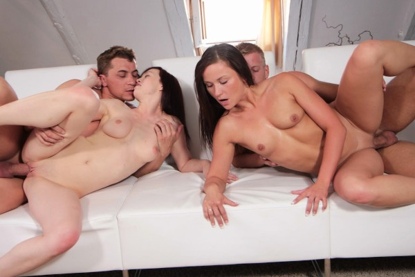 Watch Niki Sweet, Bianka, Denis Reed in Couples Swap And Fuck Like There's No Tomorrow