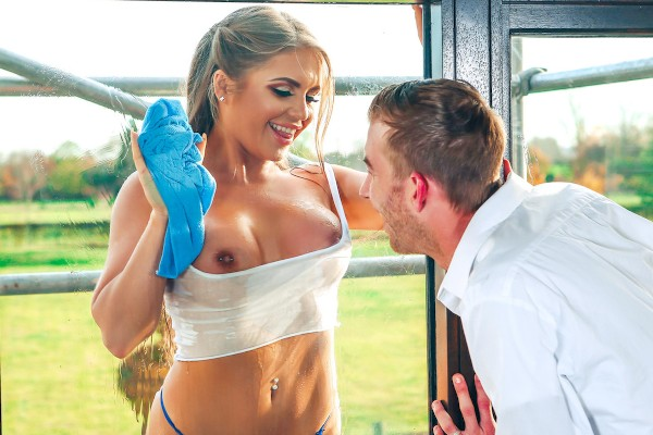Through a Glass Wetly - Alessandra Jane, Danny D