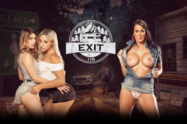 Exit 118 - Reagan Foxx, Abella Danger, Alex Jones, Kristen Scott, Scott Nails