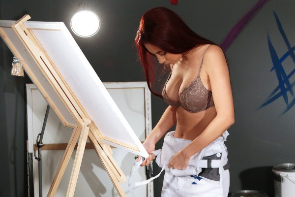 Watch Paula Shy in Artist with Big Boobs Gets Fucked