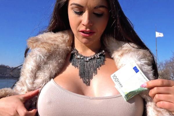 Watch Marta Lacroft in Sexy Tourist Fucks in the Bathroom