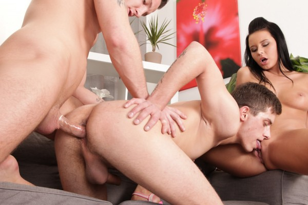 Bi Sexual Cuckold #05 Scene 3 Bisexual Orgy on Bi Empire with Mark Archer