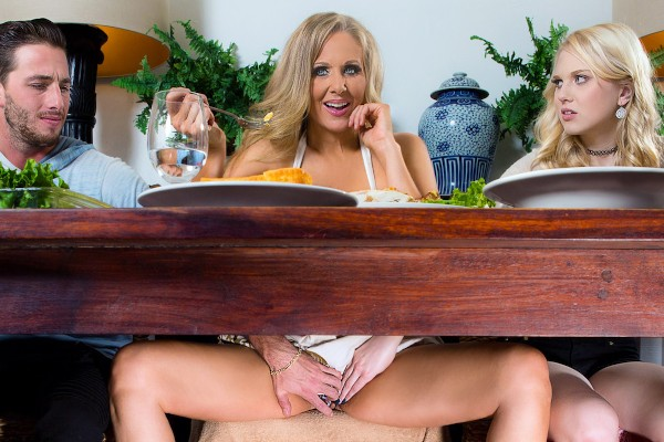 Stuffing the Turkey - Julia Ann, Lily Rader, Lucas Frost