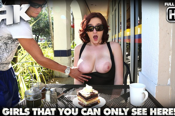 Table Top Titties with Tyler Steel, Audrey Grace at bignaturals.com