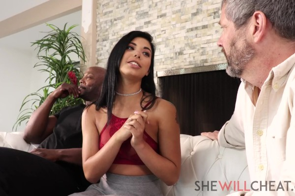 Watch Gina Valentina in Cucked By A Buff Black Man