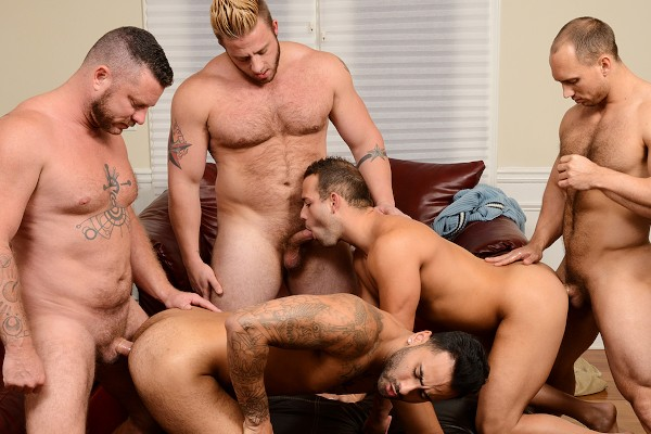 My Two Daddies Part 3 - feat John Magnum, Rikk York, Luke Adams, Aaron Bruiser, Charlie Harding