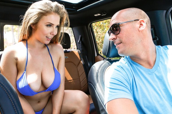 Big Tits Skinny Dip with Sean Lawless, Lena Paul at bignaturals.com