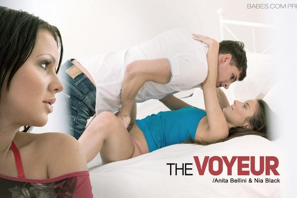 The Voyeur with Anita Berlusconi, Nia Black, Kristof Cale at momsbangteens.com
