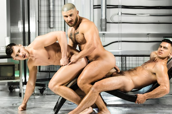 Anal Abduction - feat Paddy O'Brian, Francois Sagat, Lukas Daken