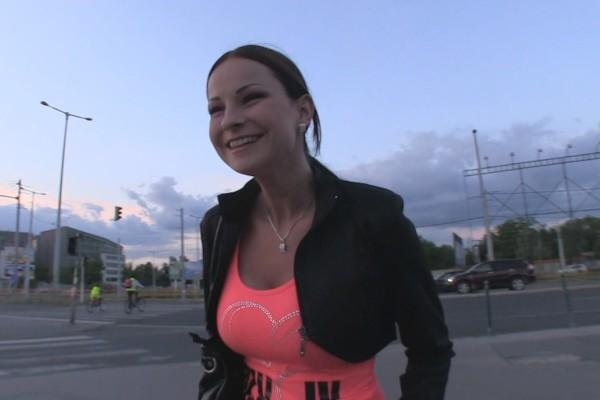 Watch Abbie Cat in Pornstar Fucks Lucky Stranger With Camera