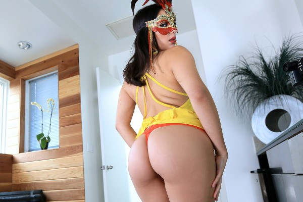 Watch Valentina Nappi in Masked Woman Fucks Her Friend's Man