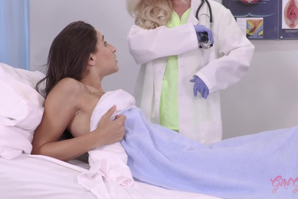 Hot doctor Lyra Law breaks the rules and fucks her patient Abella Danger