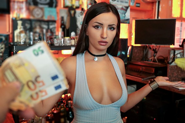 Watch Alyssia Kent in Barmaid Gets Laid Again