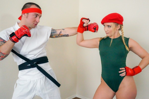 Watch Aj Applegate in Video Game Cosplay Fuck