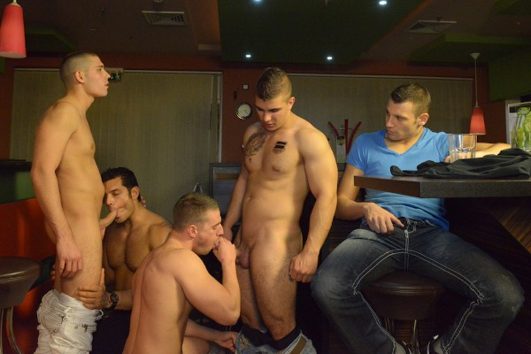 Men In Budapest 6 - feat Marcus Ruhl, Jeffrey Branson, Gabe Russel, James Jones, Akos Zentay