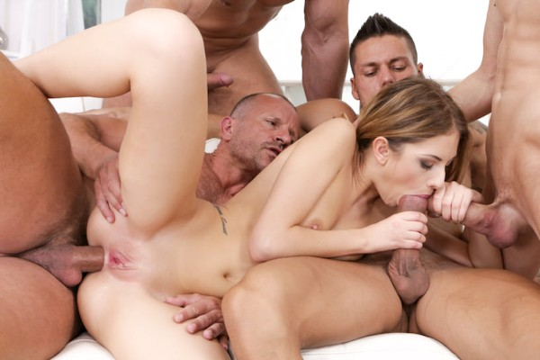 4 On 1 Gang Bangs #12 Scene 3 Reality Porn DVD and Orgies on DogHouseDigital with Angelo Godshack
