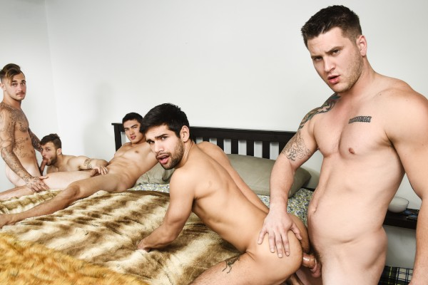 Pass The Bottom Part 3 - feat Alex Kane, Allen Lucas, Brian Michaels, Ty Mitchell, Nicolas Ryder