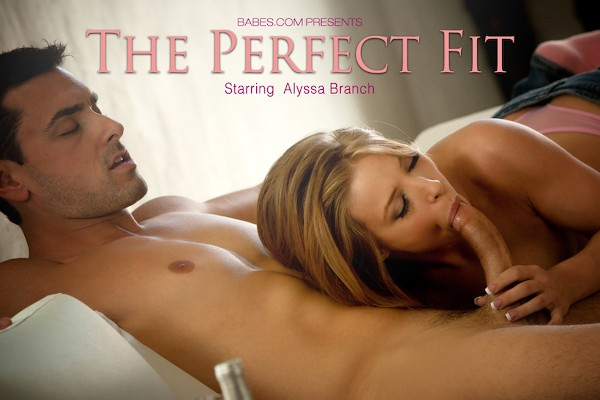 The Perfect Fit - Alyssa Branch, Ryan Driller - Babes