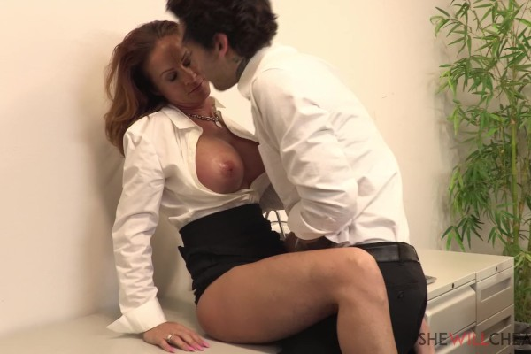 """Sabrina Cyns cheats on her husband in the same office they both work! with Sabrina Cyns at bignaturals.com"